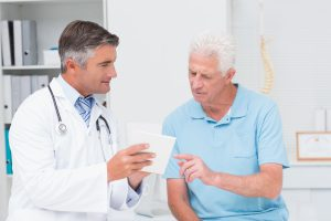 Doctor explaining prescriptions